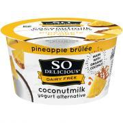 So Delicious Coconut Milk Pineapple Brulee Yogurt