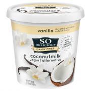 So Delicious Dairy Free Coconutmilk Vanilla