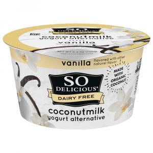 So Delicious Coconut Milk Vanilla Yogurt