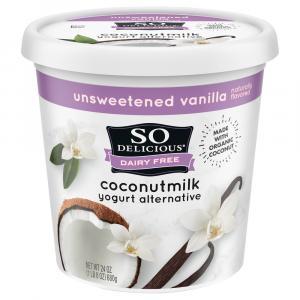 So Delicious Coconut Milk Unsweetened Vanilla Yogurt