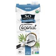 So Delicious Dairy Free Coconut Milk Vanilla