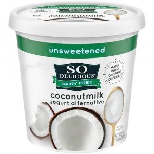 So Delicious Coconut Milk Unsweetened Plain Yogurt