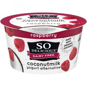 So Delicious Coconut Milk Raspberry Yogurt