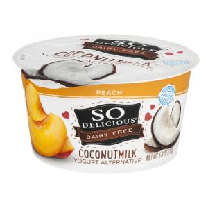 So Delicious Coconut Milk Peach Yogurt Alternative