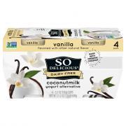 So Delicious Vanilla Yogurt