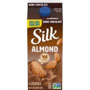Silk Pure Almond Dark Chocolate Milk