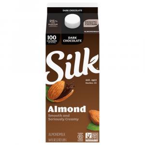 Silk Pure Almond Dark Chocolate Milk