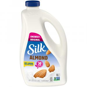 Silk Almond Unsweetened Original Milk