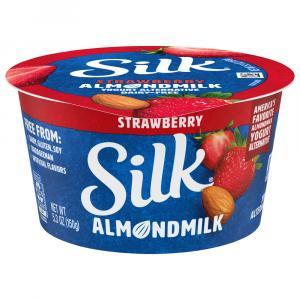 Silk Dairy-Free Strawberry Almond Yogurt Alternative