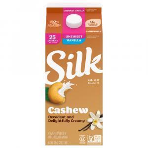 Silk Cashew Milk Unsweetened Vanilla