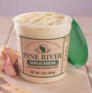Pine River Gourmet Cheese Spread Garlic Herb