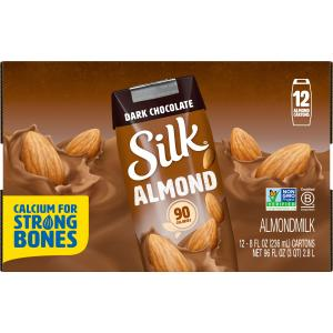 Silk Pure Almond Dark Chocolate Almondmilk