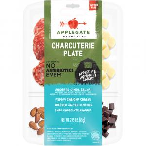 Applegate Genoa Salami & Cheddar Cheese Plate