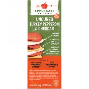 Applegate Turkey Pepperoni & Cheddar Snacker