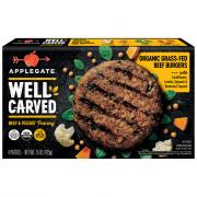 Applegate Well Carved Beef Burger