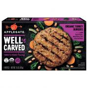 Applegate Well Carved Turkey Burger