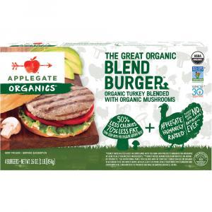 Applegate Farms Organic Turkey Blend Burger