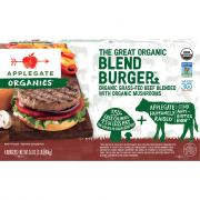 Applegate Farms Organic Beef Blend Burger