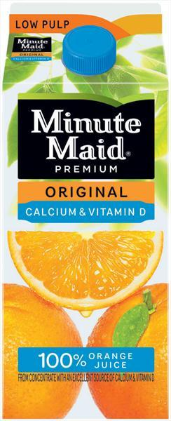 Minute Maid Pure Premium Orange Juice W/calcium
