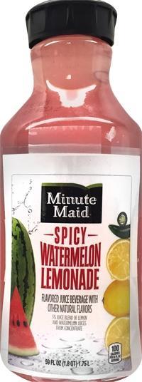 Minute Maid Spicy Watermelon Lemonade