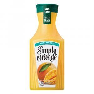 Simply Orange With Mango Juice