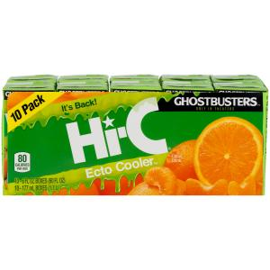 Hi-C Ghostbusters Ecto Cooler Citrus Drink
