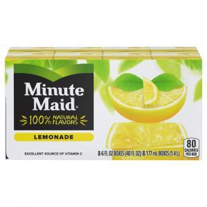 Minute Maid All Natural Lemonade With Calcium & Vitamin C