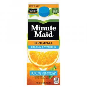 Minute Maid From Concentrate Premium Orange Juice W/calcium