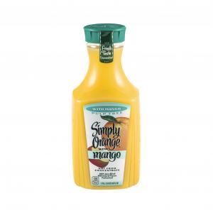Simply Orange With Mango Pulp Free Juice