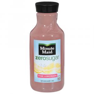 Minute Maid Zero Sugar Pink Lemonade