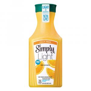 Simply Light Pulp Free Orange Juice