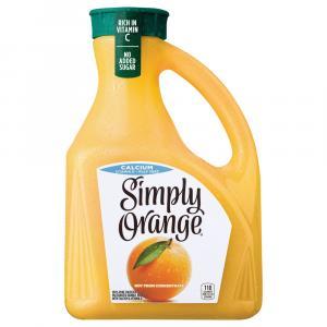 Simply Orange Pulp Free With Calcium Orange Juice