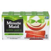 Minute Maid 100% Apple Juice with Calcium