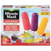 Minute Maid Tropical Juice Sticks