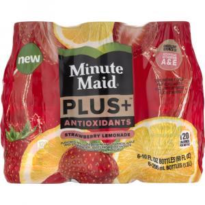 Minute Maid Plus+ Antioxidants Strawberry Lemonade