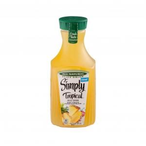 Simply Tropical Juice Drink Not From Concentrate