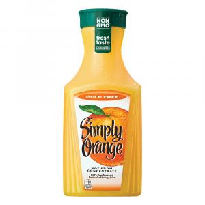 Original Simply Pulp Free Orange Juice
