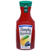 Simply Lemonade with Blueberry Juice Blend