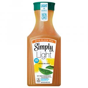 Simply Light Lemonade With Black Tea