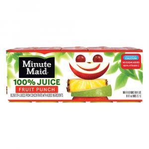 Minute Maid Fruit Punch 100% Juice With Calcium