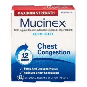 Mucinex Maximum Strength Tablets
