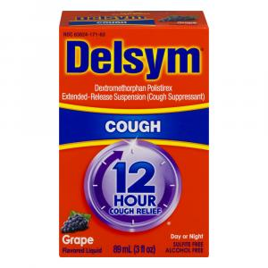 Delsym Adult Grape Cough Syrup