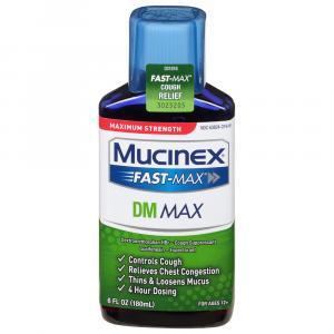 Mucinex Fast Max DM Max