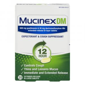 Mucinex Extended Release Cough & Congestion Relief Tablets
