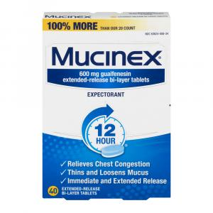 Mucinex Congestion Tablets