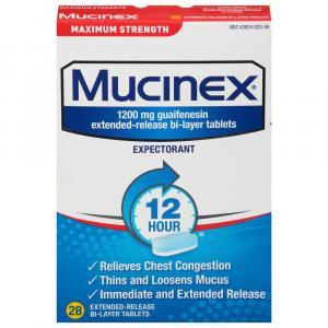 Mucinex Maximum Strength