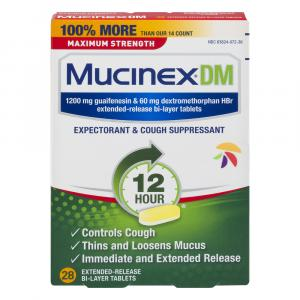 Mucinex DM Maximum Strength