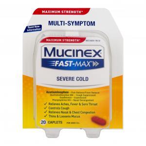 Mucinex Fast-Max Severe Congestion & Cold