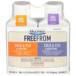Mucinex Fast Max Cold Flu Day/Night Combo