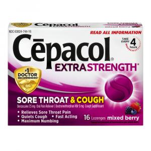 Cepacol Sore Throat & Cough Mixed Berry Lozenges